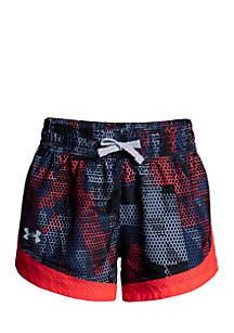 Girls' UA Sprint Printed Shorts