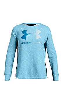 Girls 7-16 Long Sleeve Finale Terry Crew Tee