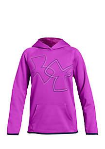 Girls 7-16 Armour Fleece® Dual Logo Hoodie