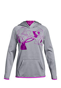 Girls 7-16 Armour Fleece® Print Logo Hoodie