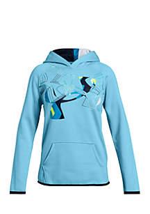 Girls 7-16 Armour Fleece® Print Logo Hoodie