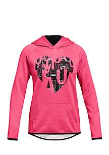 Girls 7-16 Armour Fleece® Heart Hoodie