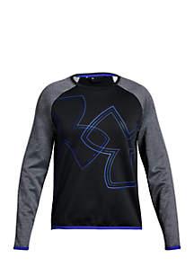 Girls 7-16 Armour Fleece® Crew Long Sleeve Shirt