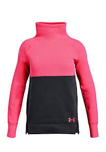 Girls 7-16 Rival Slouchy Neck Colorblock Sweatshirt
