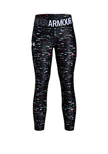 Under Armour® Girls 7-16 HeatGear® Armour Printed Ankle Crop Leggings
