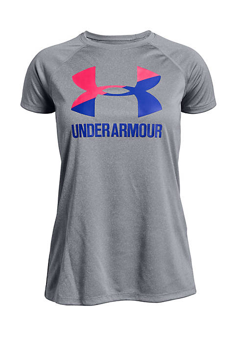 Under Armour® Big Logo Solid Short Sleeve Tee