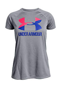Under Armour® Big Logo Solid Short Sleeve Tee