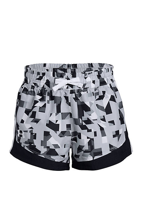 Under Armour® Girls 7-16 Sprint Printed Shorts