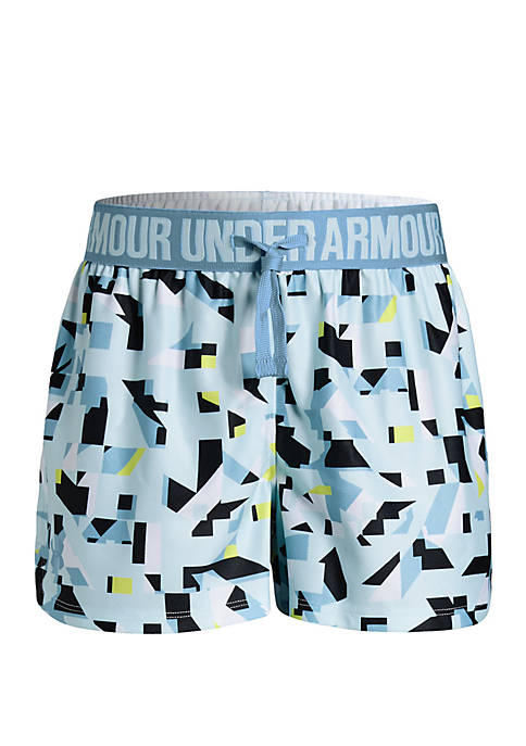 Under Armour® Girls 7-16 Play Up Printed Shorts