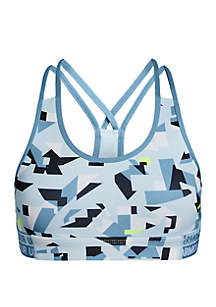 Under Armour® Girls 7-16 HeatGear® Print Sports Bra