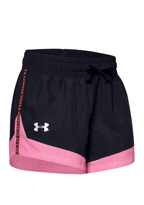 Under Armour® Girls 7-16 Sprint Fashion Shorts