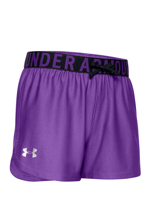 Under Armour® Girls 7-16 Playup Knit Solid Shorts