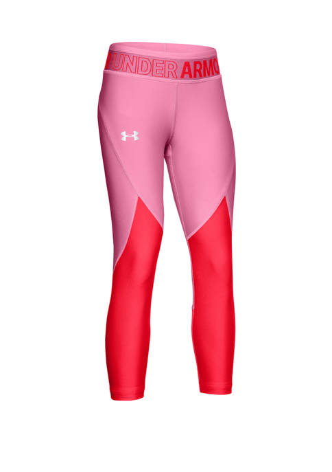 Under Armour® Girls 7-16 HeatGear® Color Block Cropped