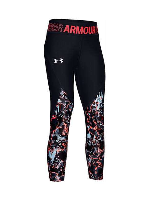 Under Armour® Girls 7-16 HeatGear® Fashion Cropped Pants