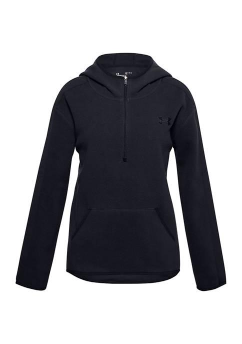 Under Armour® Girls 7-16 Fleece Half Zip Hoodie