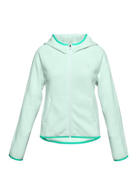 Under Armour® Girls 7-16 Full Zip Fleece Hoodie
