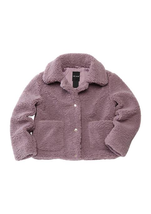 Me Jane® Girls 7-16 Cozy Trucker Jacket