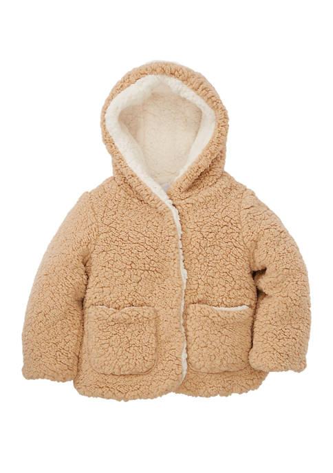 Girls 4-6x Woobie Jacket with Pockets