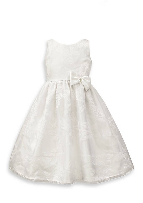 Jayne Copeland Burnout Organza Dress Girls 7-16