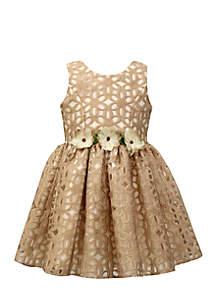 Floral Burnout Dress Girls 7-16