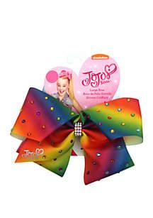 Nickelodeon™ Jojo Siwa Girls Rainbow Bow with Rhinestones