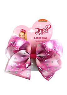 Nickelodeon™ Jojo Siwa Girls Glitter Star Print Bow