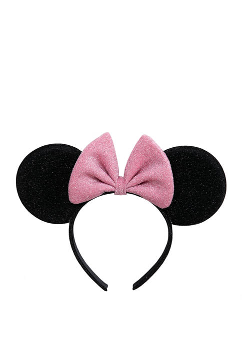 Disney® Girls Minnie Black Ears with Pink Bow