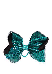 Nickelodeon™ Jojo Siwa Girls Mermaid Scale Sequin Bow