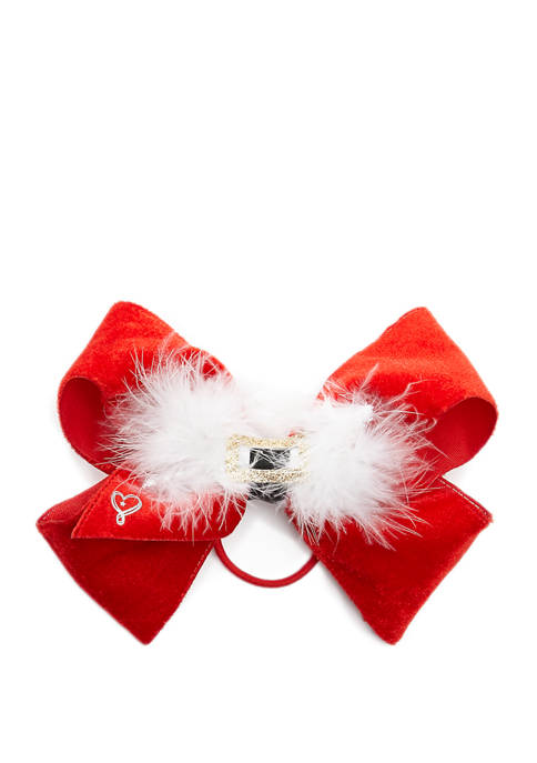 Nickelodeon™ Jojo Siwa Girls Santa Belt Bow