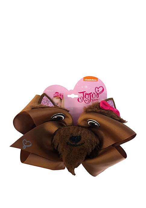Fantasia Accessories Bow Wow Dog Face Critter Bow
