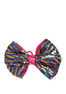 Nickelodeon™ Jojo Siwa Girls Reverse Sequin Bow