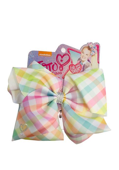 Fantasia Accessories Girls Gingham Bow