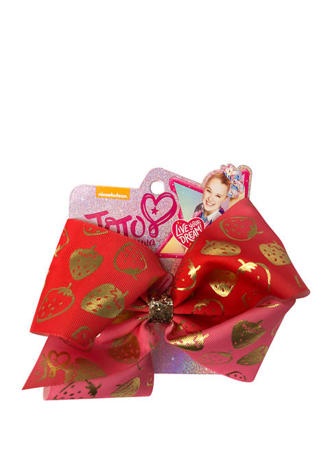 Fantasia Accessories Girls Strawberries Bow