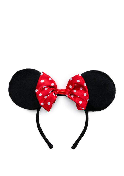 Disney® Girls Classic Minnie Ears with Red Bows