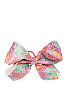 Nickelodeon™ Jojo Siwa Girls Glitter Rainbow Mermaid Scales Bow