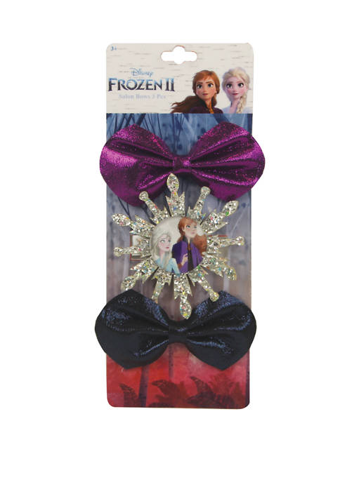 Fantasia Accessories Girls Trio Salon Shimmer Bows