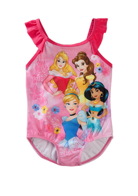 Disney® Princess Girls 4-6x Princess One Piece Swimsuit