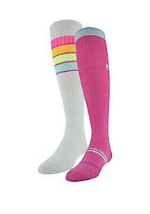 Under Armour® Girls Novelty Over the Calf Socks