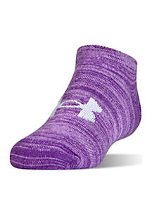 Under Armour® Toddler Girls Essential Twist No Show Socks