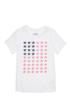 JK Tech® Star Flag Screen Tee Girls 4-6x
