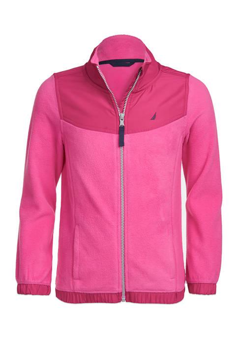Nautica Girls 4-6x Polar Fleece Jacket