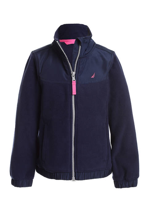 Nautica Girls 7-16 Polar Fleece Jacket