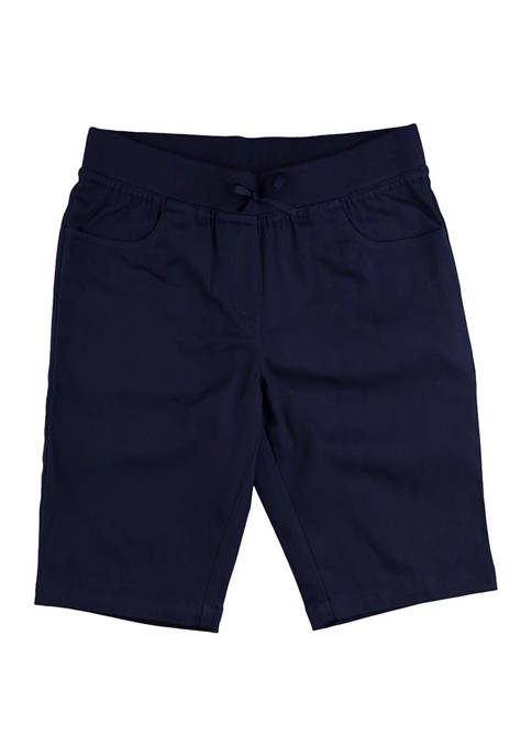 Chaps Girls 7-16 Pull On Bermuda Shorts