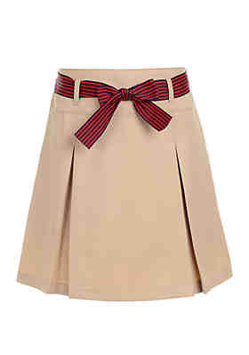 1cdd1d0c2e Nautica Girls 7-16 Pleated Scooter Skort with Bow ...