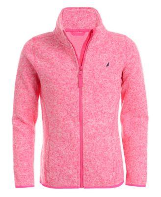 Nautica Girls Girls 7-16 Sweater Fleece Jacket