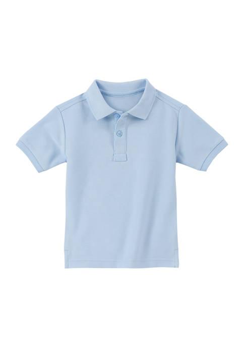 Toddler Boys Piqué Polo