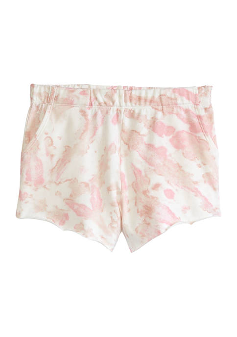 love, Fire Girls 7-16 French Terry Shorts