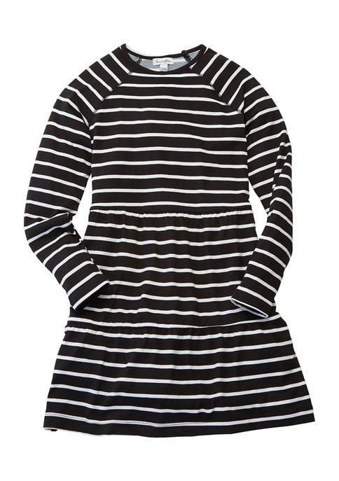 love, Fire Girls 7-16 Long Sleeve Babydoll Dress