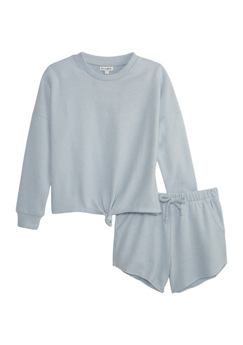 Girls 7-16 2 Piece French Terry Set