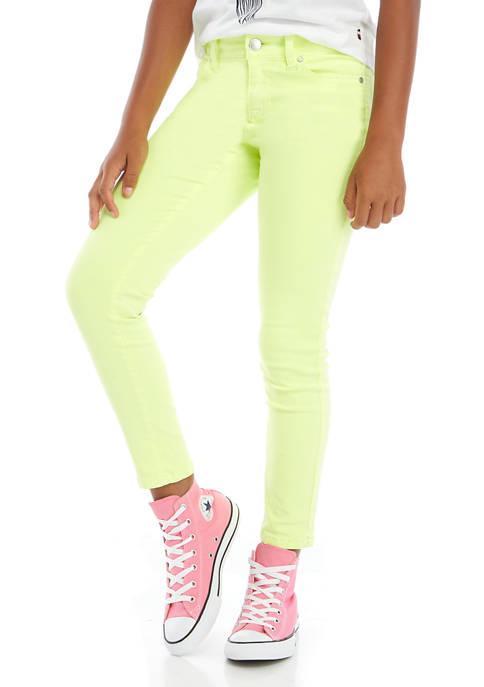 Celebrity Pink Girls 7-16 Atomic Washed Neon Skinny